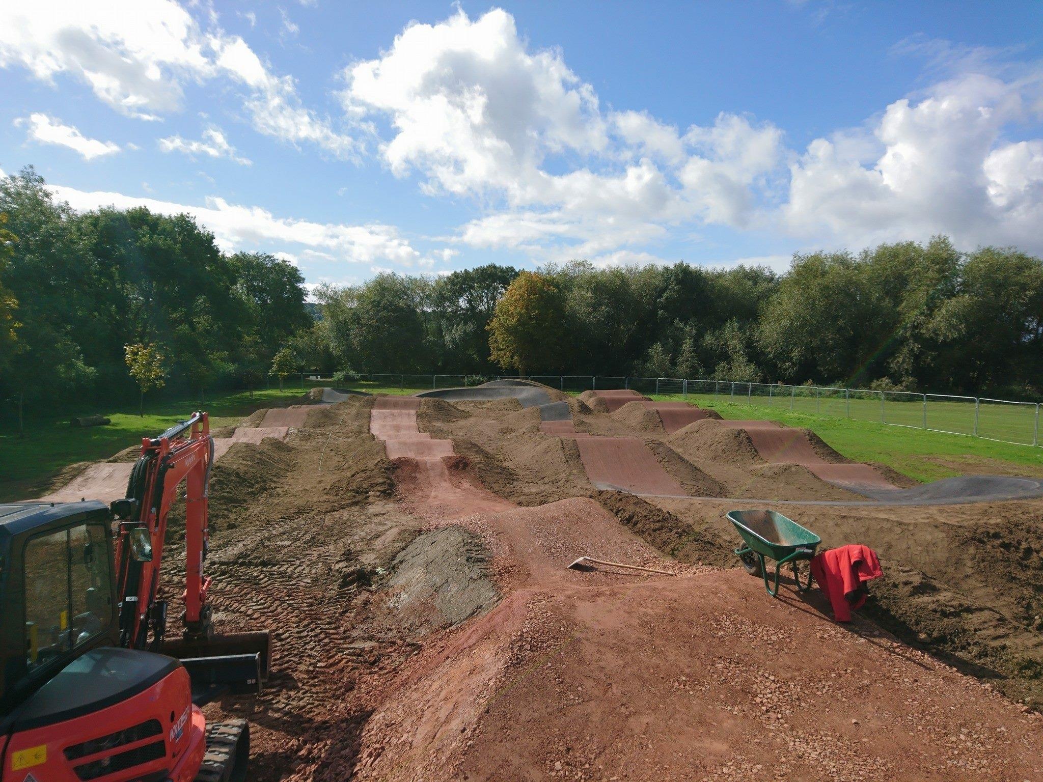 Cheltenham BMX & Pump Track, Burrow Fields