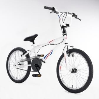 Ride With Pride Halfords Union Jack BMX Bikes - Trail Guide and