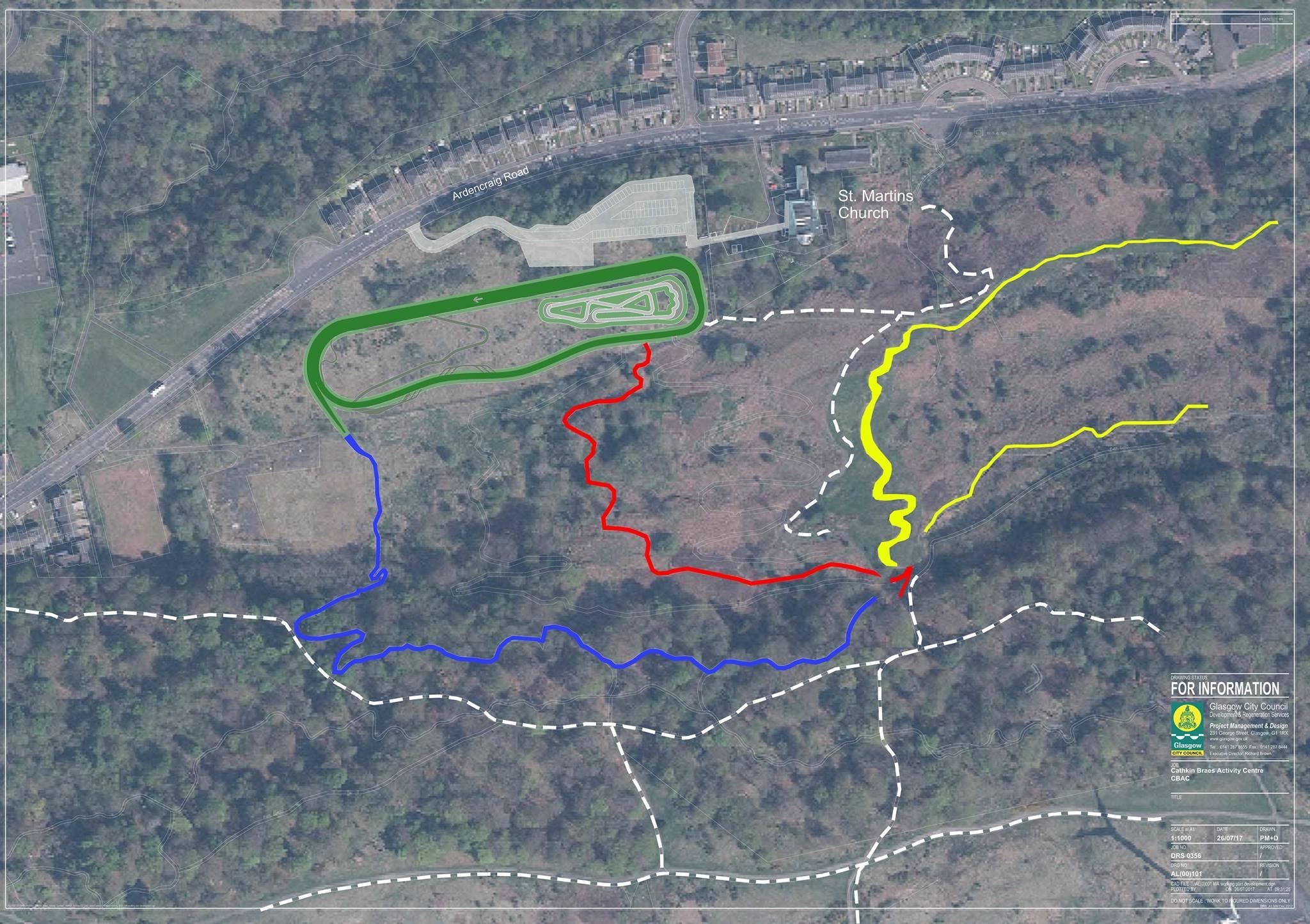 Cathkin Braes Mountain Bike Trails