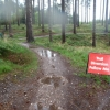 Rock 'N' Rollers section at Cannock Chase closed for rebuilding