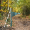 Fencing starts to go up around Long Valley MoD Area. Concerning times!