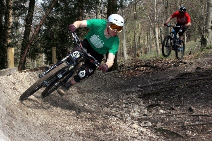 Queen Elizabeth Country Park Mountain Biking - Trail Guide and ... on