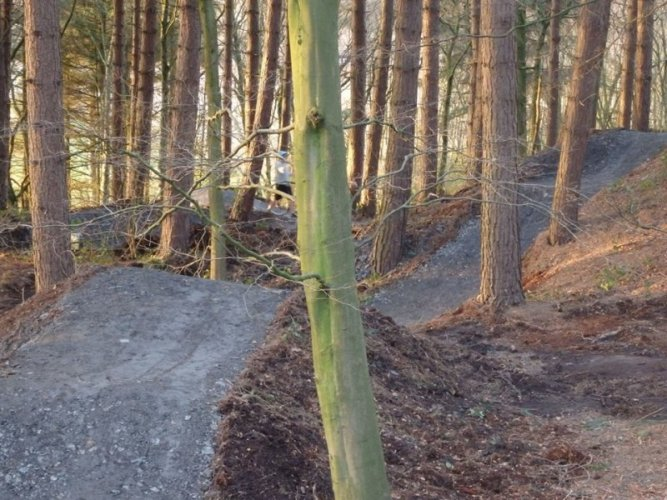 Bickerstaffe Cycle Track England
