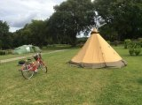 Bell tent, Deanwood Caravan and Camping