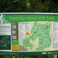 Eastridge Woods Mountain Bike Trails