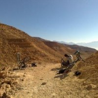 Downhill Mountain Biking in the Eilat Mountains