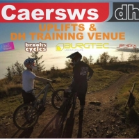 Caersws Downhill Track, Wales
