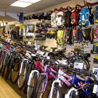 Large selection of children's bikes