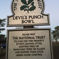 Devil's Punch Bowl and Hindhead