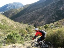 Guided, lift assisted mountain bike holidays in Spain