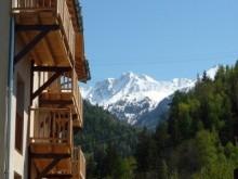 Large biking chalet in alpine village close to trails