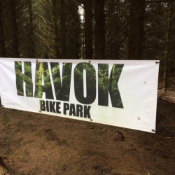 New Drop at Havok Bike Park