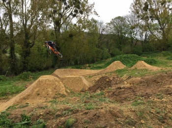 417 Bike Park re-opening Dirt Jumps Main Line with more jumps!